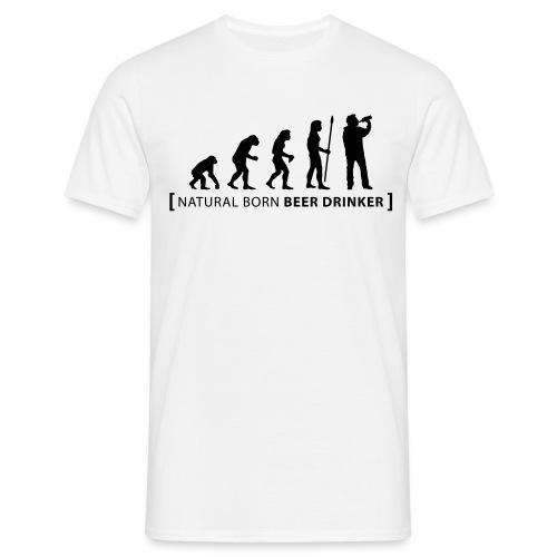 Natural Beer Drinker - Men's T-Shirt