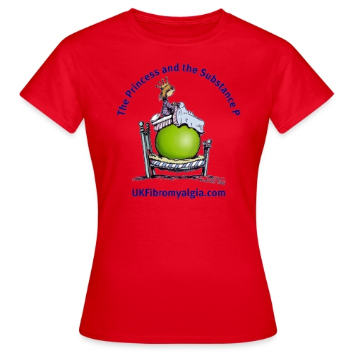 Princess and the Substance P T Shirt - Women's T-Shirt