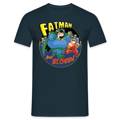Fatman & Blobbin - Men's T-Shirt