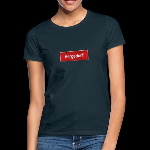 Mein Hamburg, mein Bergedorf, mein Kiezshirt - Frauen T-Shirt