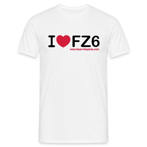 I LOVE FZ6 - Camiseta hombre