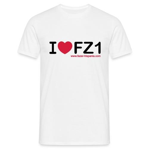 I LOVE FZ1 - Camiseta hombre