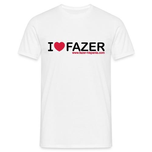 I LOVE FAZER - Camiseta hombre