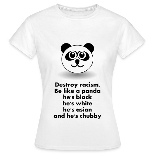 Chubby Panda - T-shirt Femme