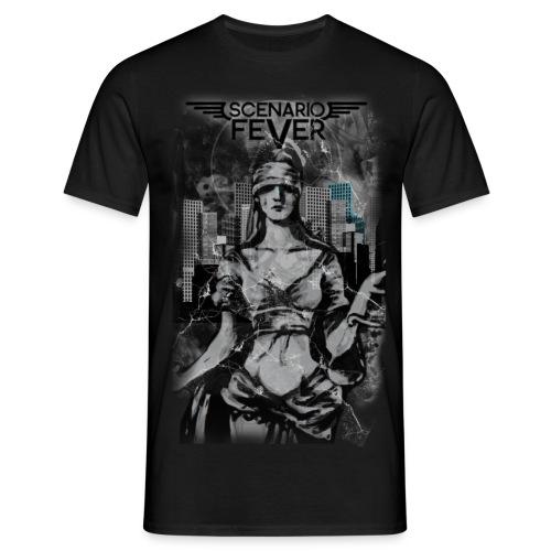 Men Justitia Shirt - Männer T-Shirt