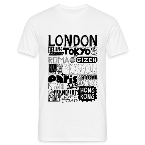CITIES - T-shirt Homme