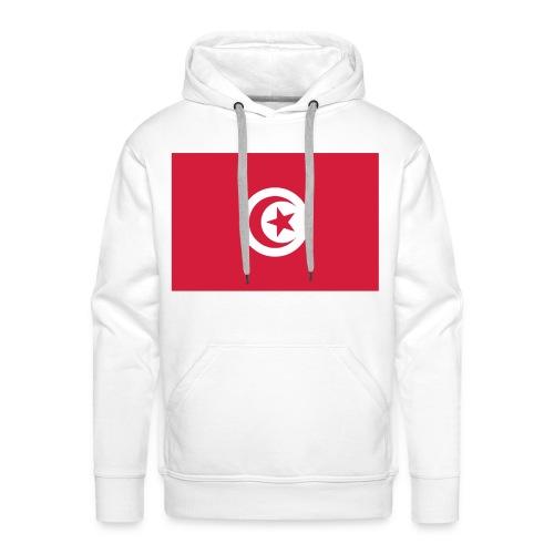 SI TU SAIS D'OU TU VIENS, TU SAIS SE QUE TU VAUX - TUNISIE - Sweat-shirt à capuche Premium pour hommes
