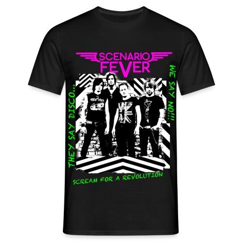 Anti Disco Fever Men Shirt - Männer T-Shirt