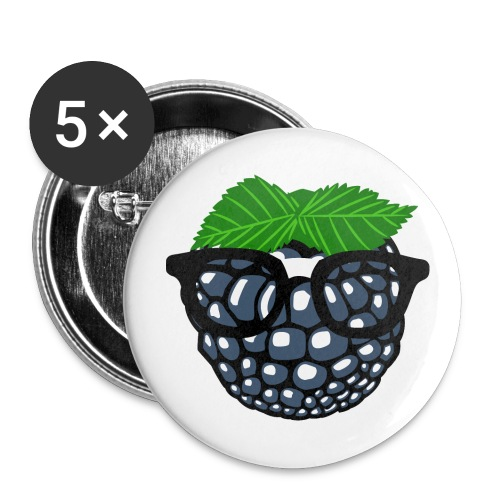 Crack Berry Buttons - Buttons groß 56 mm (5er Pack)