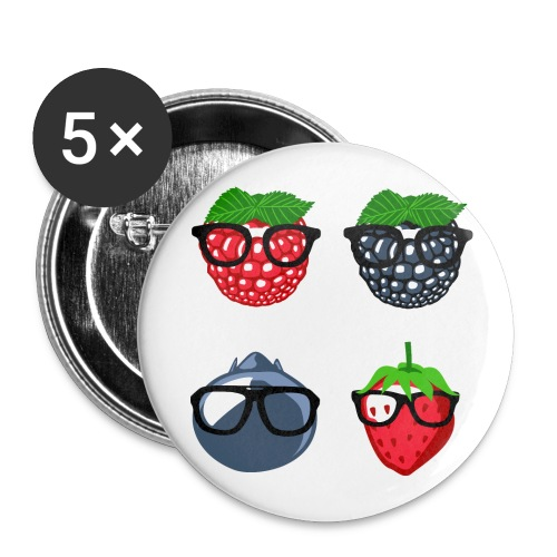 Berry Bunch Buttons - Buttons groß 56 mm (5er Pack)