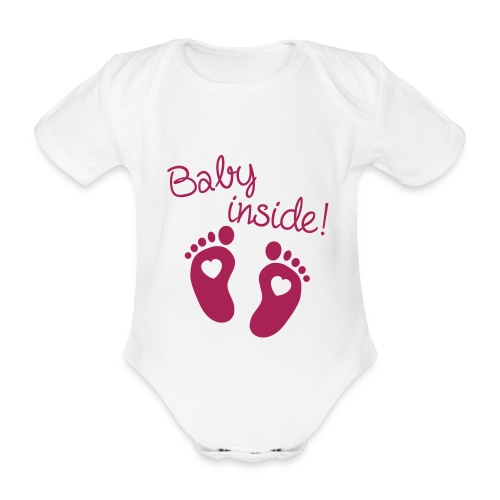 Body bébé bio manches courtes