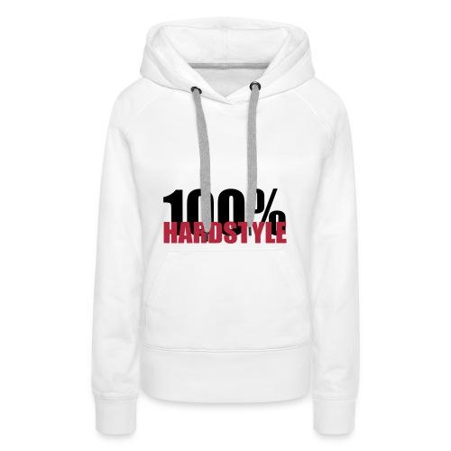 100% hardstyle - Vrouwen Premium hoodie