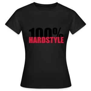 100% hardstyle - Vrouwen T-shirt