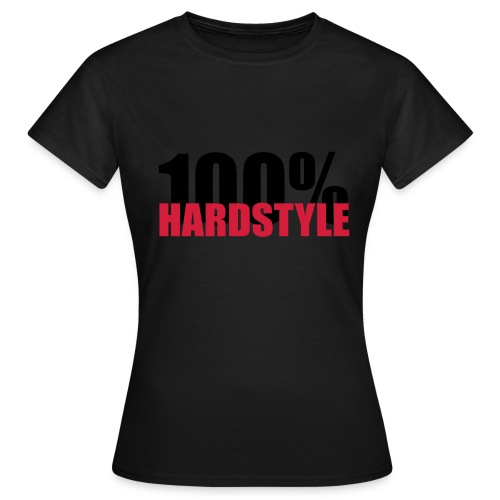 100% hardstyle - Vrouwen T-shirt