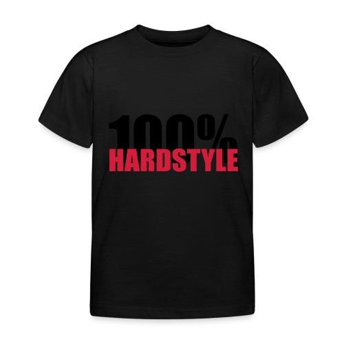 100% hardstyle - Kinderen T-shirt