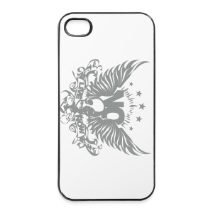 Iphone4-Skull-Angel - Custodia rigida per iPhone 4/4s