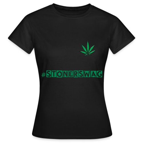 #stonerswag womens black t-shirt  - Women's T-Shirt
