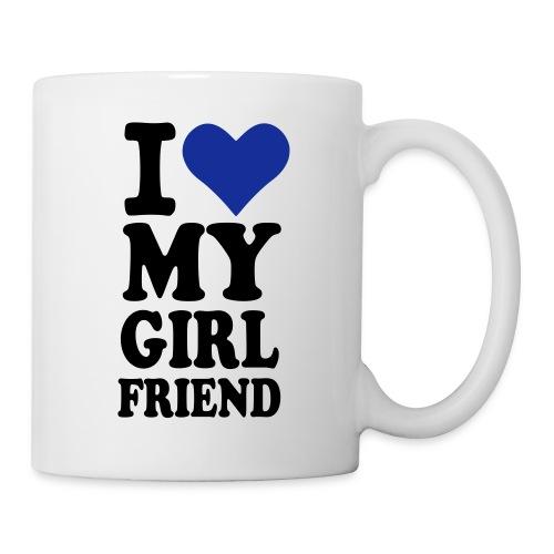 I love my Girlfriend Mug with thermal sublimation - Mug