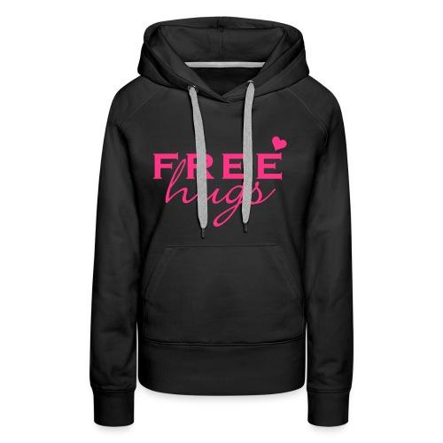 free hugs hoodie - Vrouwen Premium hoodie