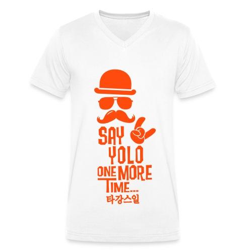 One MORE Time - Männer Bio-T-Shirt mit V-Ausschnitt von Stanley & Stella