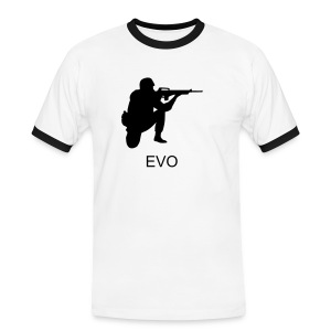 EVO Soldier - Men's Ringer Shirt