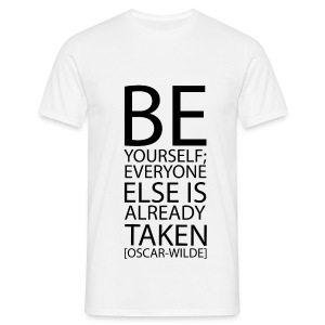 Be yourself - Maglietta da uomo