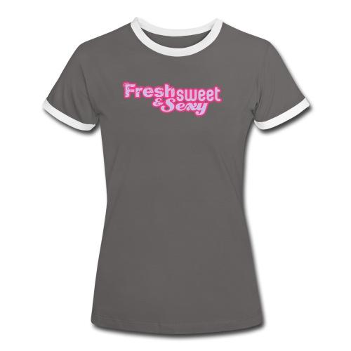 F.S.&.S Women's Contrast T-Shirt - Women's Ringer T-Shirt