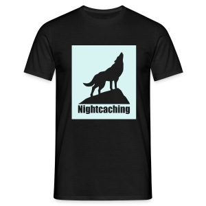 Nightcaching Wolf - Männer T-Shirt