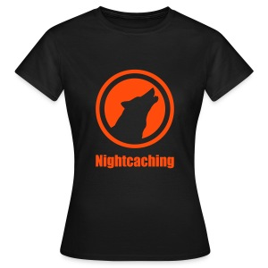 Nightcaching Wolf Emblem - Frauen T-Shirt