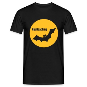 Nightcaching Fledermaus - Männer T-Shirt