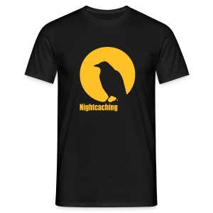 Nightcaching Rabe - Männer T-Shirt