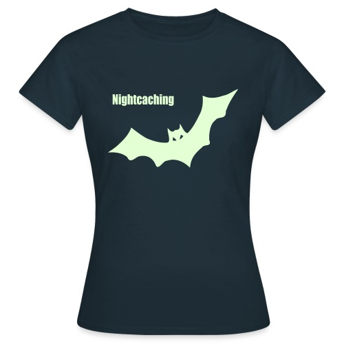 Nightcaching Fledermaus - Frauen T-Shirt