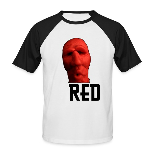 Red Ed - Männer Baseball-T-Shirt