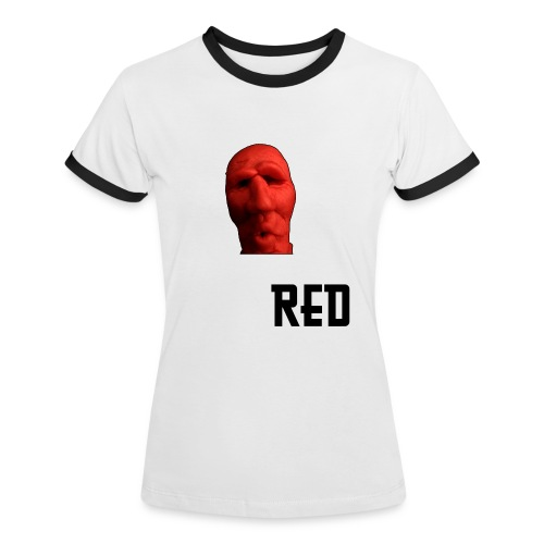 Red Ed - Frauen Kontrast-T-Shirt