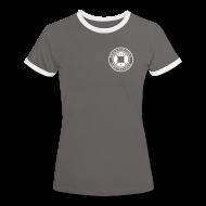 T-shirts ~ Vrouwen contrastshirt ~ RSJ-020 D