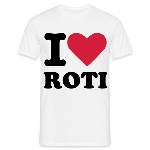 I Love Roti - Men's T-Shirt
