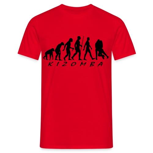 Kizomba shirt - Mannen T-shirt