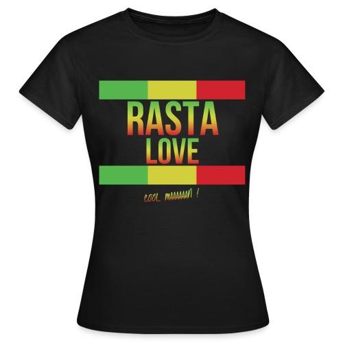 RASTA LOVE FEMME - T-shirt Femme