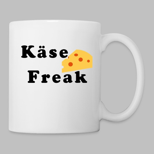 Käse Freak - Tasse, Griff rechts - Tasse