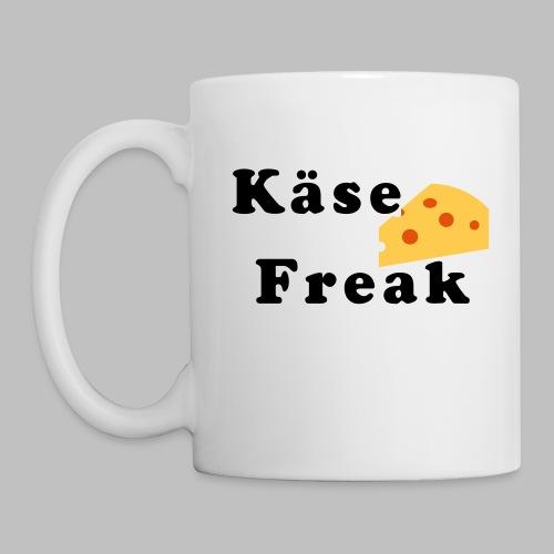 Käse Freak - Tasse, Griff links - Tasse