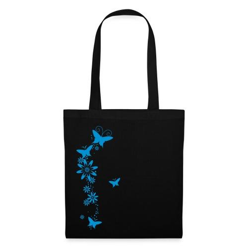 Blue Butterflys - Stoffbeutel