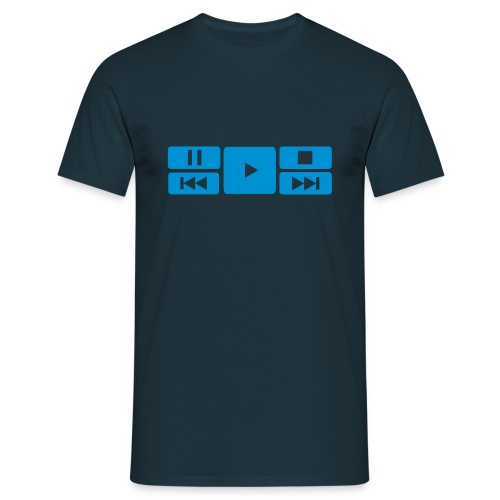 Play Pause etc - Men's T-Shirt