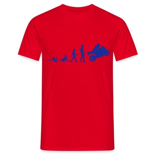 Maglietta Evoluzione - Maglietta da uomo