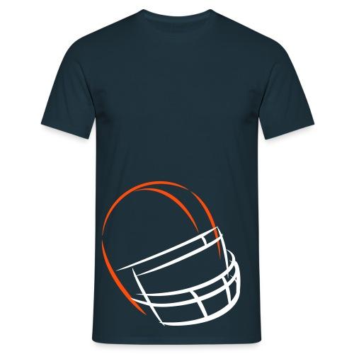 Helmet Flashes - Männer T-Shirt