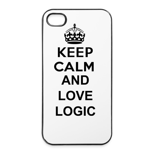 Keep Calm and love Logic iPhone 4/4s cover - iPhone 4/4s Hard Case