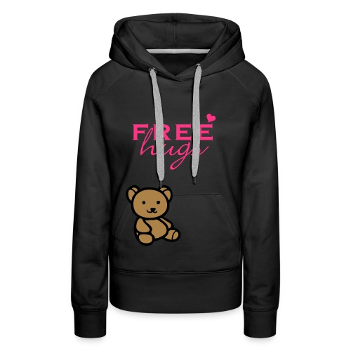 dames / vrouwen trui sweater free hugs - Vrouwen Premium hoodie