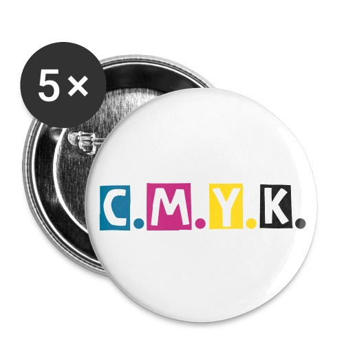 Buttons klein 25 mm - BUTTONS-C.M.Y.K