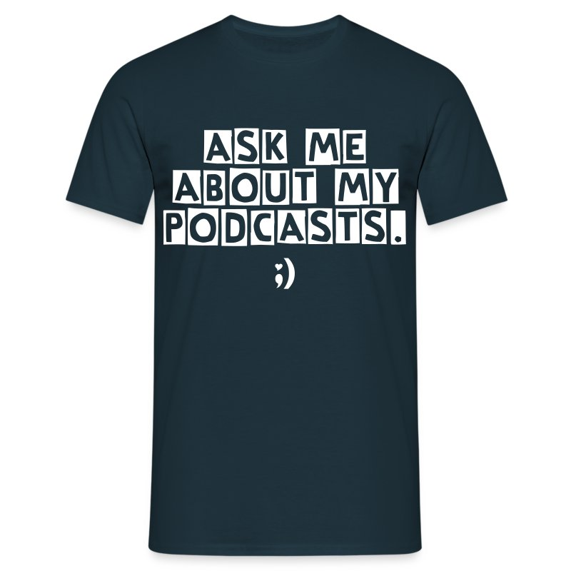 Ask Me M - Men's T-Shirt