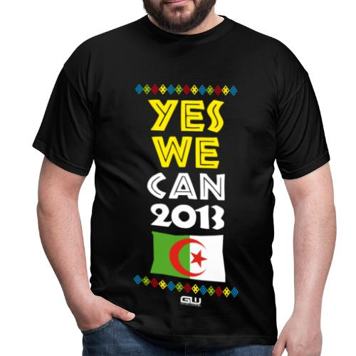 Algérie Yes We CAN 2013 - T-shirt Homme