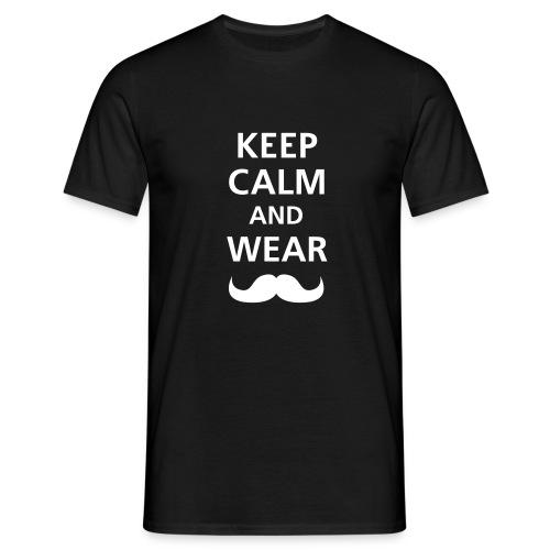 KEEP CALM - BLACK - Camiseta hombre